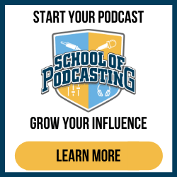 Start Your Podcast Grow Your Influence (border) 250x250
